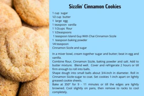 Cinnamon Sizzle Cookie