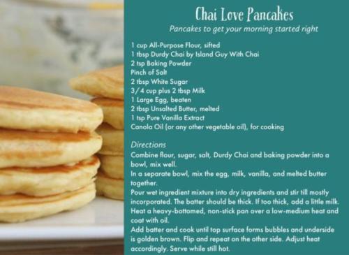 Chai Love Pancakes